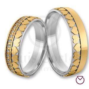 Argollas De Matrimonio Oro Plata Especiales LCAOPE-17