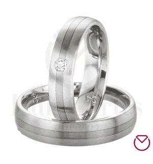 Argollas de matrimonio en plata LCAMP-02