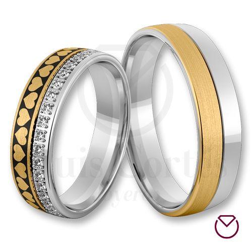 Argollas De Matrimonio Oro Plata Especiales LCAOPE-14
