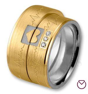 Argollas De Matrimonio Oro Plata Especiales LCAOPE-15