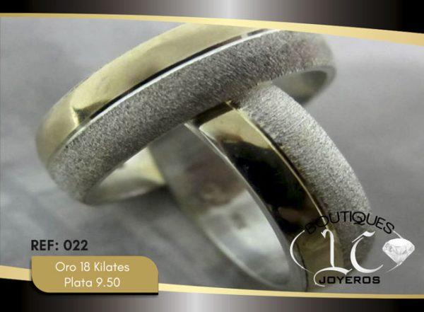 Argollas De Oro Plata / REF. 135AOP
