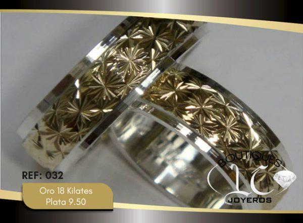 Argollas De Oro Plata / REF. 140AOP