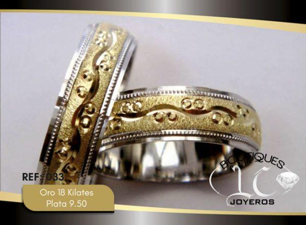 Argollas De Oro Plata / REF. 142AOP