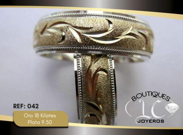 Argollas De Oro Plata / REF. 145AOP
