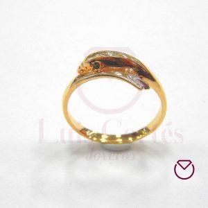 Anillo quince años oro LCAQAO-13
