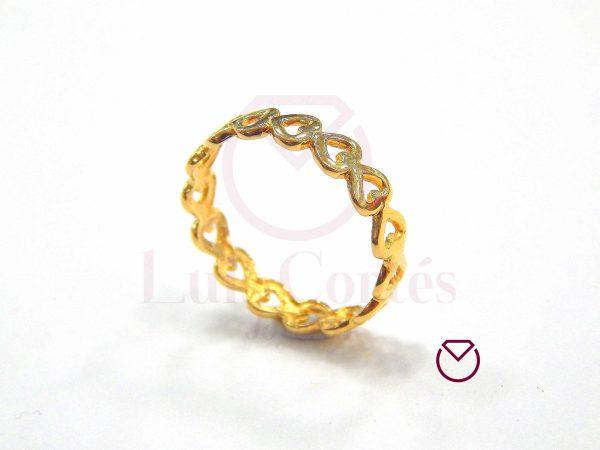 Anillo quince años oro LCAQAO-14