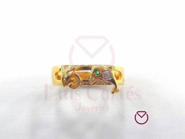 Anillo quince años oro LCAQAO-17