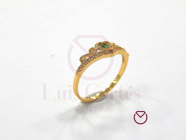 Anillo quince años oro LCAQAO-35