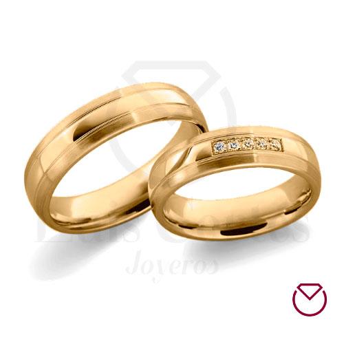 Argolla de matrimonio 07