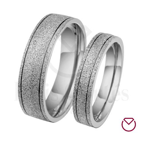 Argollas de matrimonio en plata 13