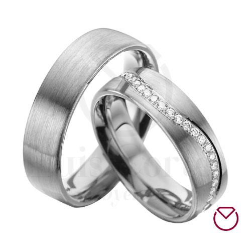 Argollas de matrimonio en plata 16