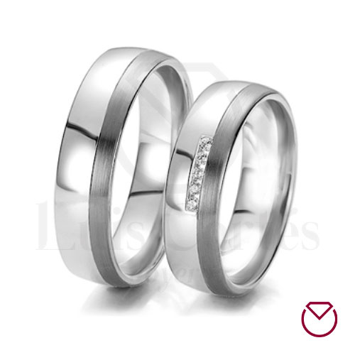 Argollas de matrimonio en plata 20