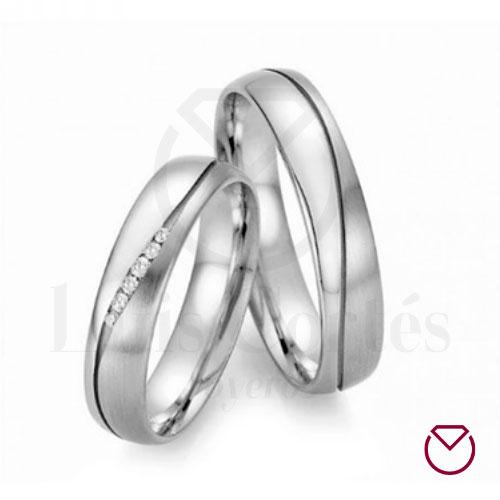 Argollas de matrimonio en plata 23