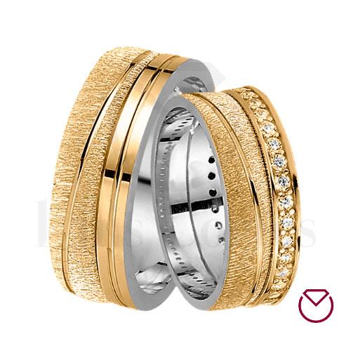Argollas De Matrimonio Oro Plata Especiales LCAOPE-05